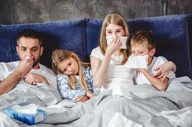 Afronta la gripe y el resfriado con reishi