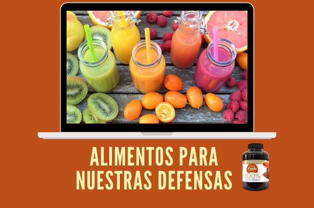 Alimentos que ayudan a subir tus defensas